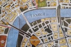 Dettaglio della mappa di Londra