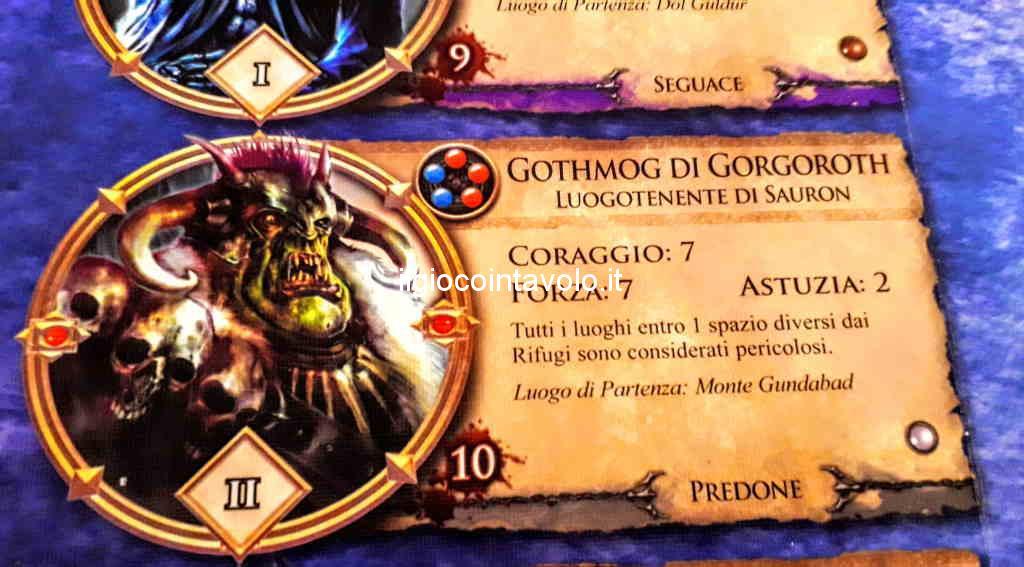 3 - Il gioco da tavolo Il Signore degli Anelli - Avventure nella Terra di Mezzo 6