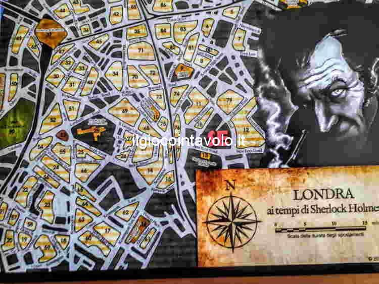5 - Sherlock Holmes gioco da tavolo - Consulente investigativo. 3