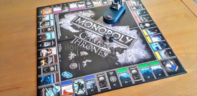 6 - Monopoly Game of Thrones - 4 casate in lottra tra loro... non solo finanziaria! 13