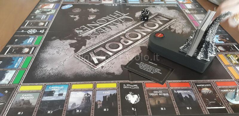 6 - Monopoly Game of Thrones - 4 casate in lottra tra loro... non solo finanziaria! 4
