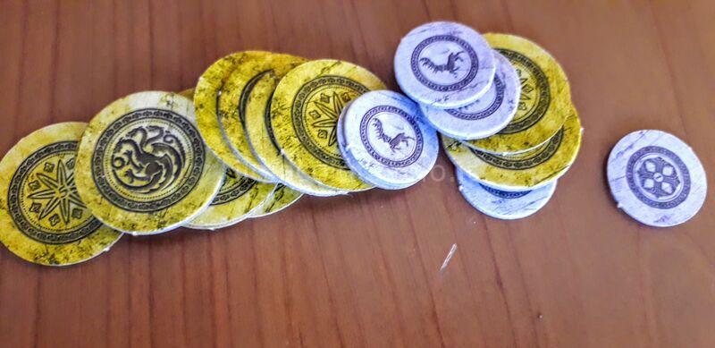 6 - Monopoly Game of Thrones - 4 casate in lottra tra loro... non solo finanziaria! 1