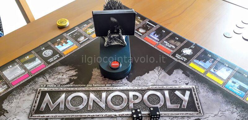 6 - Monopoly Game of Thrones - 4 casate in lottra tra loro... non solo finanziaria! 7