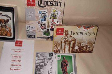 I giochi di carte Templaria & Corsari - la Dal Negro ci offre un modo alternativo di giocare a carte
