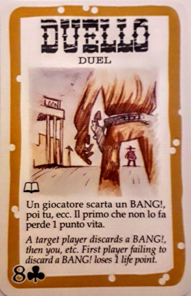 9 - BANG! Il gioco di carte per chi ama le epiche sparatorie dei film western. 5
