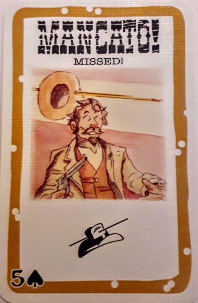 9 - BANG! Il gioco di carte per chi ama le epiche sparatorie dei film western. 10