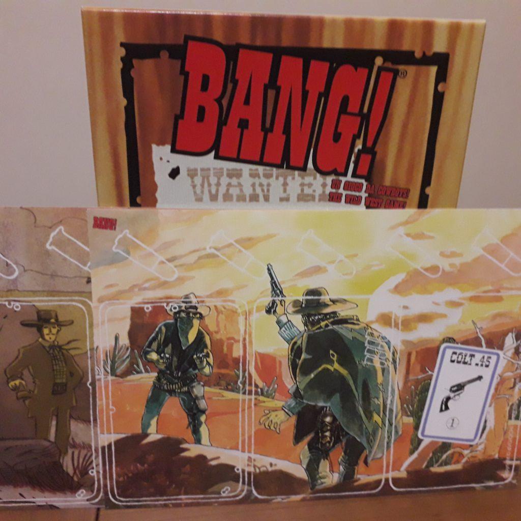 BANG! Il gioco di carte di Emiliano Sciarra per chi ama le epiche sparatorie dei film western.