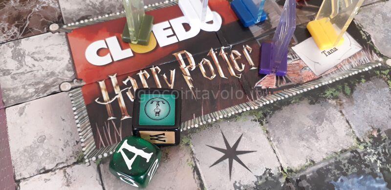 11 - Cluedo Harry Potter - Harry, Ron, Hermione e i loro 3 amici sono in pericolo! 11