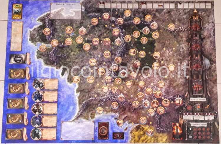 3 - Il gioco da tavolo Il Signore degli Anelli - Avventure nella Terra di Mezzo 39