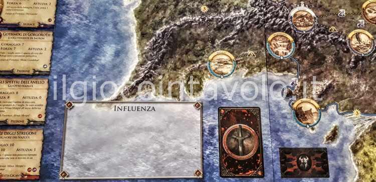 3 - Il gioco da tavolo Il Signore degli Anelli - Avventure nella Terra di Mezzo 33