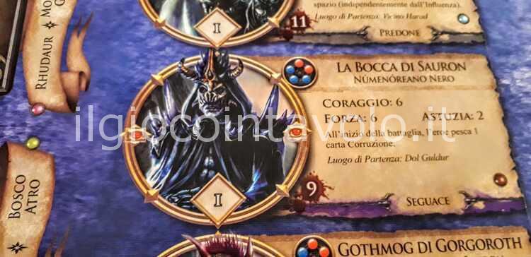 3 - Il gioco da tavolo Il Signore degli Anelli - Avventure nella Terra di Mezzo 12