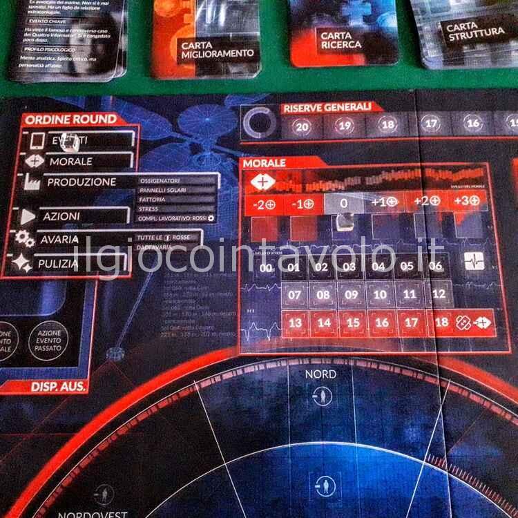 Il gioco da tavolo First Martians - Ma perche' diavolo siamo atterrati su Marte !!??!! 1