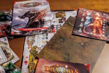 Il gioco da tavolo Drakerys - Di Orchi di Umani di Elfi e di Nani. E di DRAGHI. 11