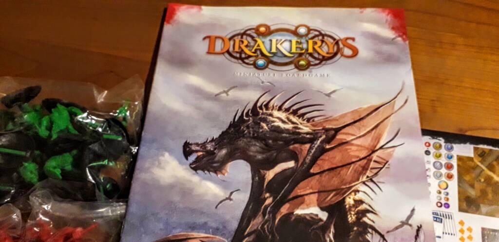 wargame da tavolo Drakerys