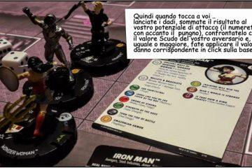 Il gioco da tavolo Heroclix - miniature e fantasia sfrenata: che ci fanno la Justice League America e gli Avengers nella BatCave ? 1